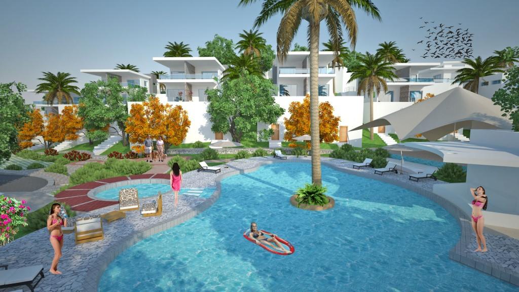 piscina area condominiale