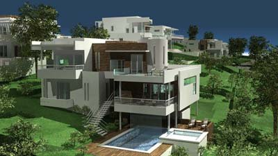 Vacanze nei caraibi ville for Planimetrie case moderne