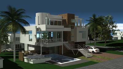 Vacanze nei caraibi ville for Case modello moderne
